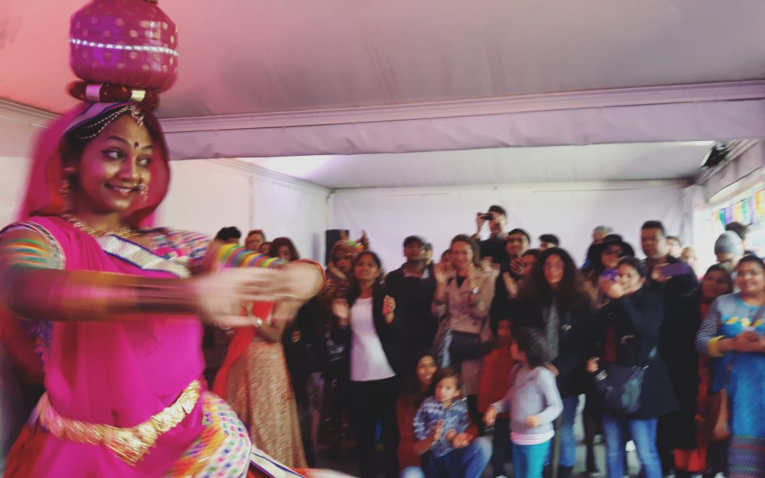 Dance Tent @ Diwali in London, Trafalgar Square