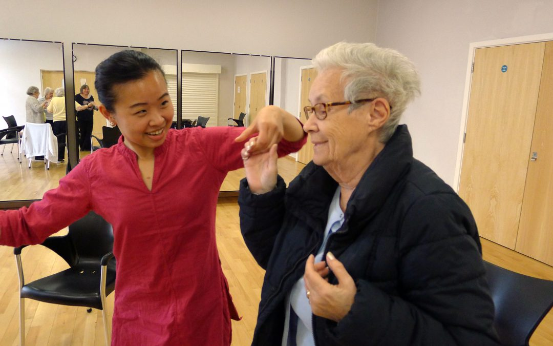 Dance Well @ St Pancras and Somers Town Living Centre   With Jane Chan