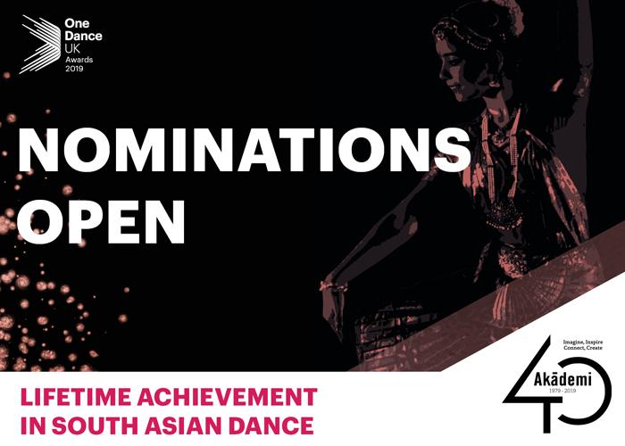 One Dance UK Awards | Nominations Open