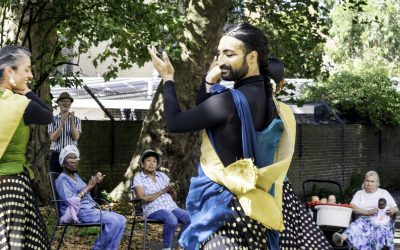 Akademi Brings Live Performances to Older Adults in Camden