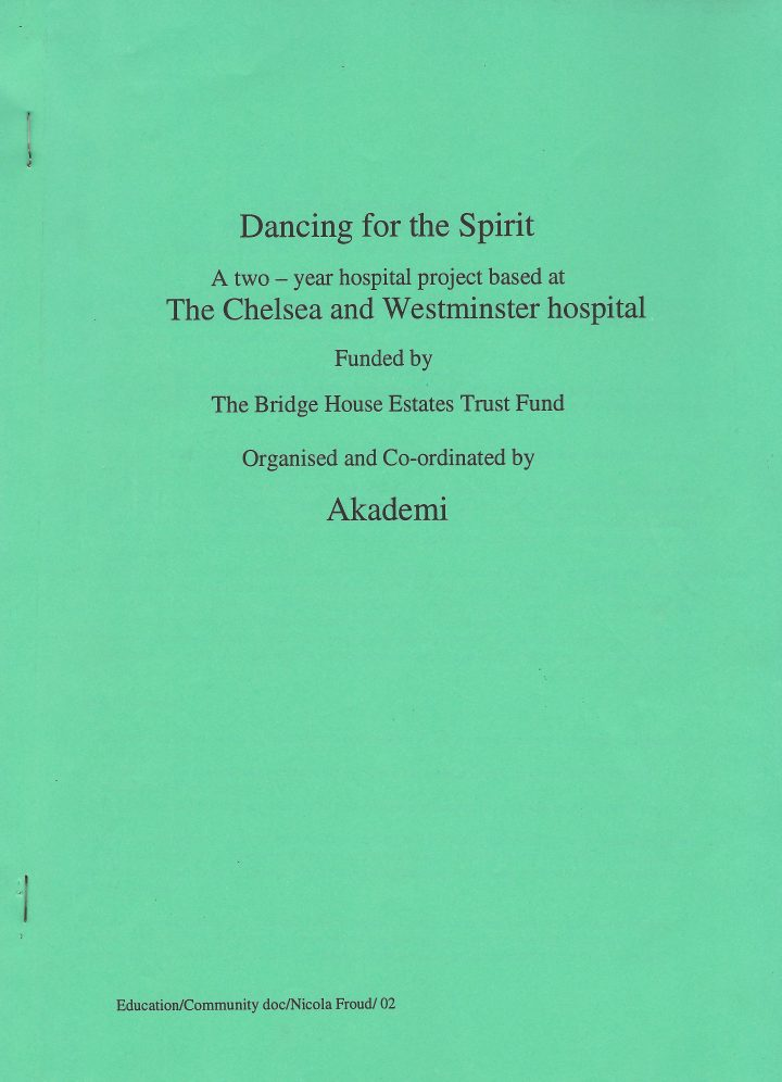 Dancing for the Spirit report cover