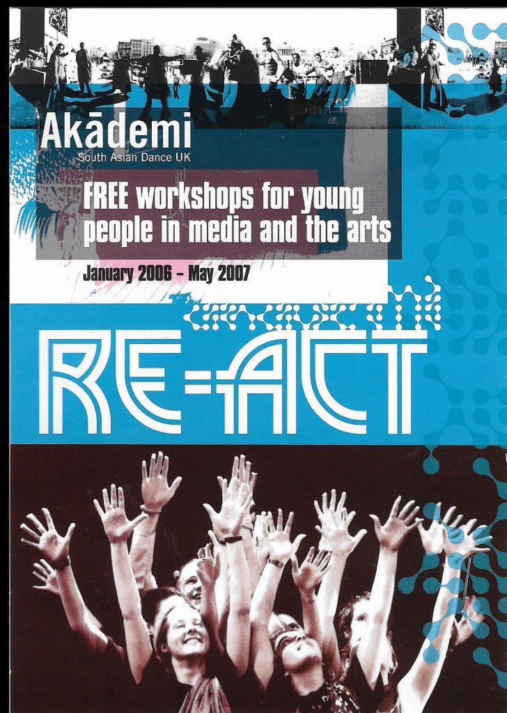 Akademi Re-Act Flyer 1