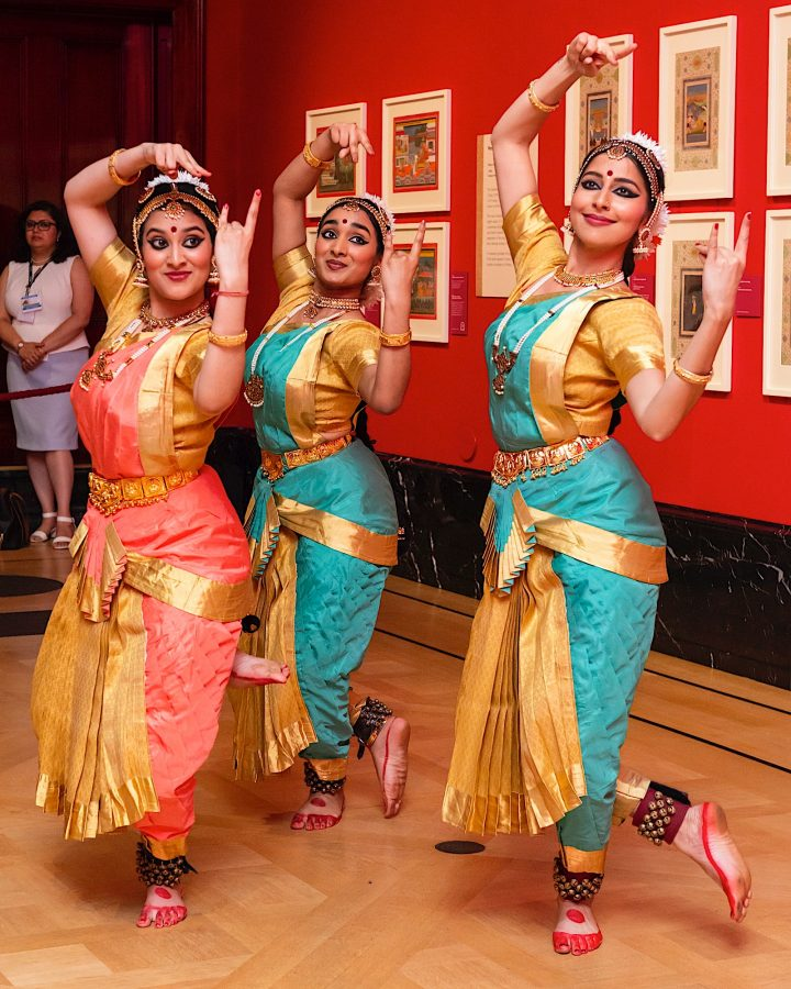 Akademi performance at Eastern Encounters Thursday lates, by Upahaar School of Dance, credit Royal Collection Trust © Her Majesty Queen Elizabeth II 2019