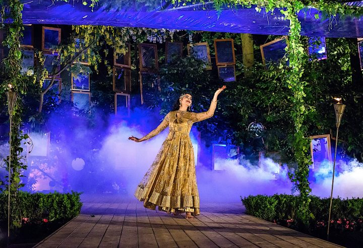 Akademi performance on Deewani Mastani at Hyver Hall 2018, credit Raj Thaker