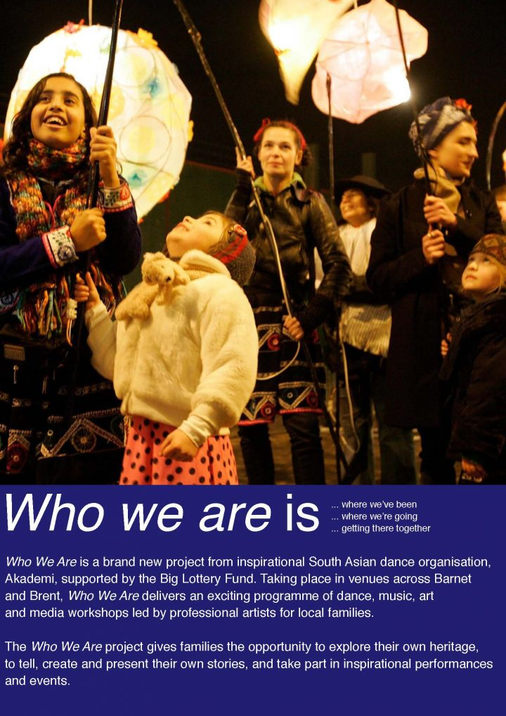 Akademi's Who We Are leaflet