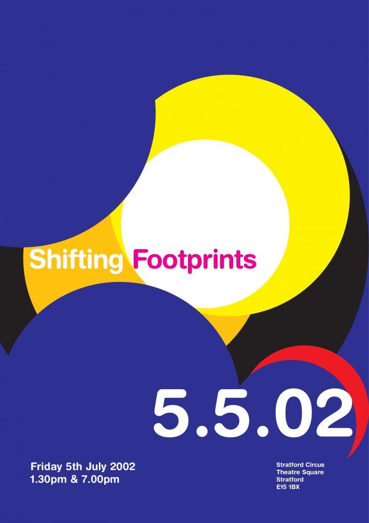 Shifting Footprints Flyer cover