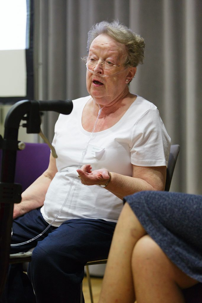 Brenda Shillito at Aesop conference 2018, Photo Tas Kyprianou - Limited usage only