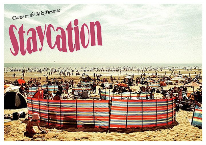 Dance in the Mix Staycation postcard Front