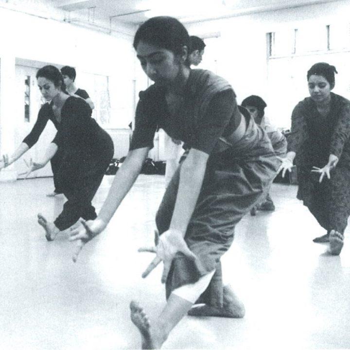 ISTD Bharatanatyam class 1998, credit - Vipul Sangoi