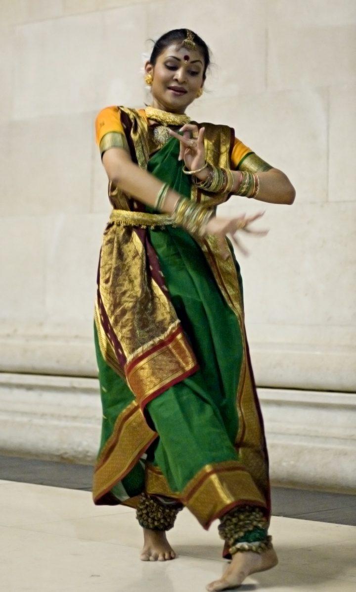 Bengali folk dancer