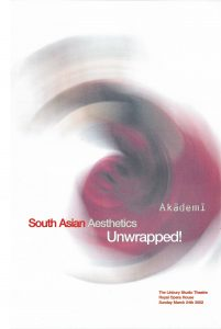 South Asian Aesthetics Unwrapped_ Conference Flyer